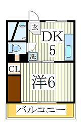 アルジェント[3階]の間取り
