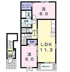 HOTARU−U[2階]の間取り