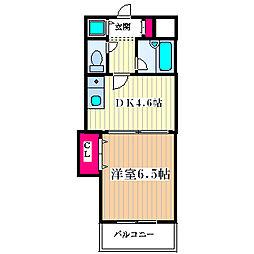 ロイヤル塚本[3階]の間取り