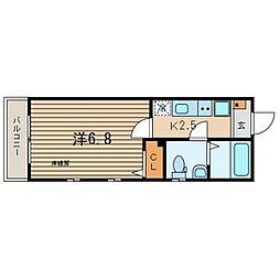 ピアコートTM西荻窪[201号室]の間取り