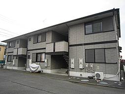 神奈川県小田原市栢山の賃貸アパートの外観