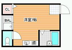 ビルシャナ上田[2階]の間取り