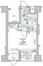 日神デュオステージ笹塚東館[13階]の間取り