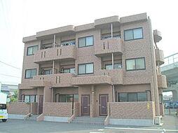 三重県四日市市川北3丁目の賃貸マンションの外観