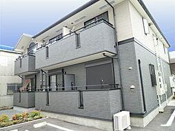 愛知県名古屋市西区上小田井2丁目の賃貸アパートの外観