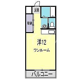 Rose2[8階]の間取り
