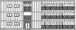 キャストコート[2階]の外観