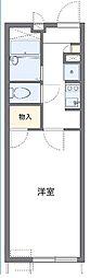 レオパレスNEXT DOOR[1階]の間取り