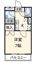 SST湘南台[3階号室]の間取り