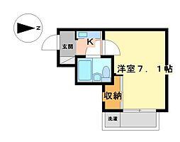 エ・スパシオ名西[3階]の間取り