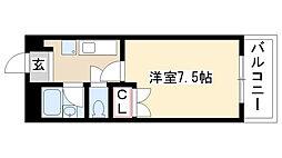 愛知県名古屋市南区氷室町1丁目の賃貸マンションの間取り