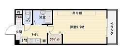 桜ケ丘晴楽館[5階]の間取り