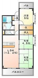 アスティオン江坂[5階]の間取り