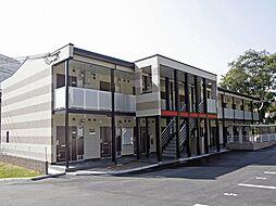 兵庫県神戸市北区山田町下谷上字芝山の賃貸アパートの外観