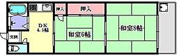 兵庫県神戸市長田区高東町2丁目の賃貸マンションの間取り