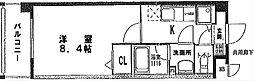 ベルマノワール[305号室]の間取り