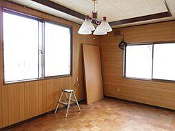 2階南側洋室床...