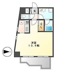 覚王山エクセル[2階]の間取り