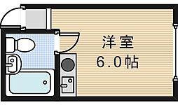 サンフラワー駒川[3階]の間取り