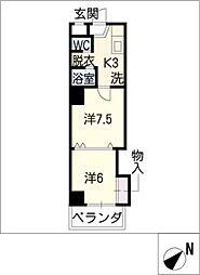 VIA 141[6階]の間取り