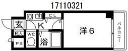 アヴァンセ播磨町[7階]の間取り