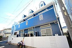 愛知県名古屋市中川区的場町2丁目の賃貸アパートの外観