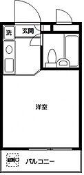モナークマンション溝の口第2[4階]の間取り