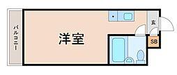 レジダンスイン・目黒[5階]の間取り