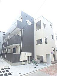 大阪府大阪市東住吉区鷹合4の賃貸アパートの外観