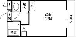 リトルパレス[2階]の間取り