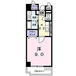 プラシード カーサ[3階]の間取り