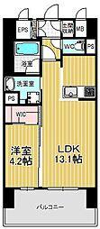 セレニティー大須[704号室]の間取り