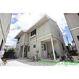 [テラスハウス] 徳島県徳島市福島1丁目 の賃貸【/】の外観