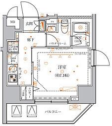 クレイシア入谷竜泉〜CRACIA IRIYA RYUSEN〜[13階]の間取り