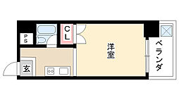 愛知県名古屋市南区加福本通2丁目の賃貸マンションの間取り