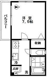 北新宿4丁目マンション[1階号室]の間取り
