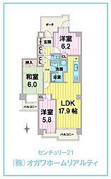 せんげん台サンライトパストラル中央1番館 707号室