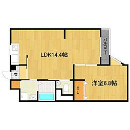 マイハウスコンカドール[3階]の間取り