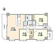 ~ 新規内装リフォーム 安心のアフターサービス保証付き 3方角部屋 開放感のあるLDK 閑静な住宅街 住宅ローン控除適用物件 ~