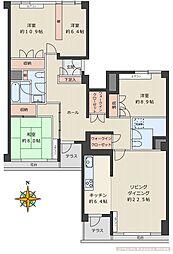 川口アパートメント[220号室]の間取り