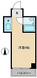 ネオダイキョー神戸元町[12階]の間取り