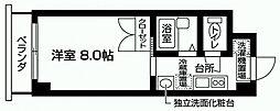 千葉県野田市山崎の賃貸マンションの間取り
