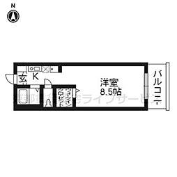 エラブ東福寺[305号室]の間取り