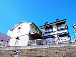 埼玉県朝霞市東弁財2丁目の賃貸アパートの外観