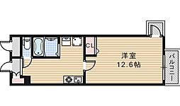 昭和町エクセルハイツ[608号室]の間取り