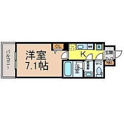 S−FORT山王[11階]の間取り