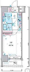 JR総武線 浅草橋駅 徒歩5分の賃貸マンション 9階1Kの間取り