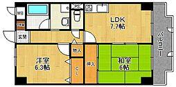 ホワイトボックス PartII[305号室]の間取り