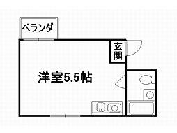 メゾン上賀茂[2階]の間取り