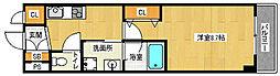 京都府京都市中京区槌屋町の賃貸マンションの間取り